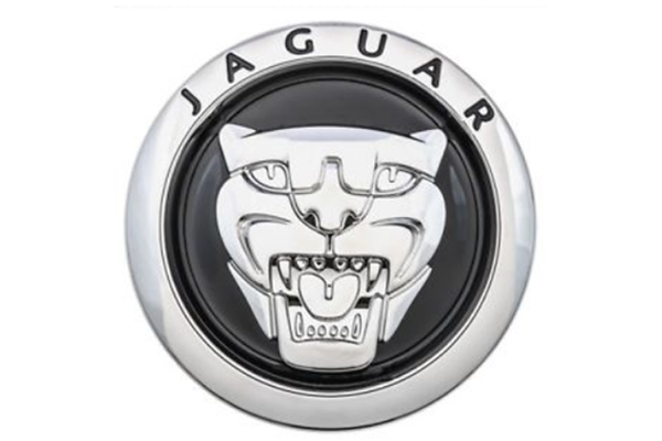 Jaguar Early Black Grille Badge